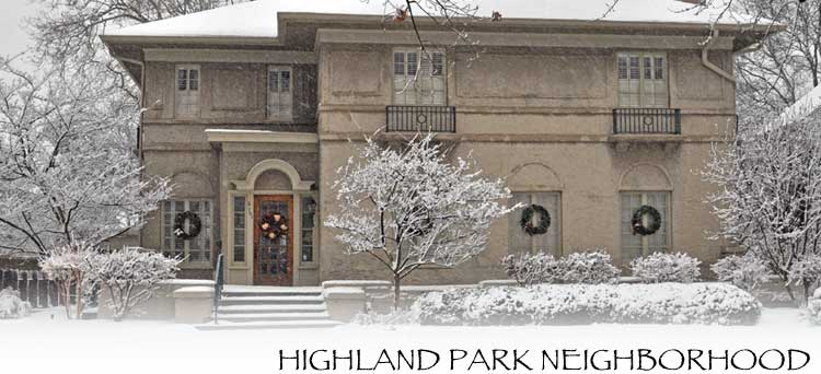 Highland Park Neighborhood