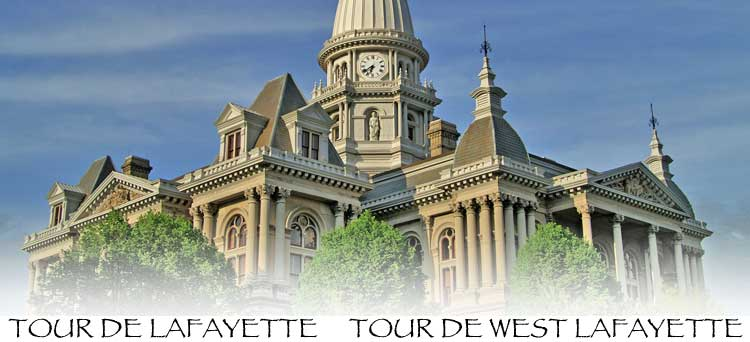 Tour De Lafayette -- Historic Plaque Homes in Lafayette, Indiana