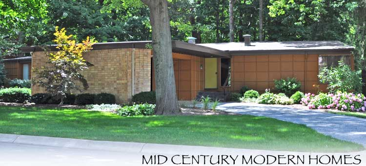 Tour de lafayette mid century modern homes for Mid century modern homes